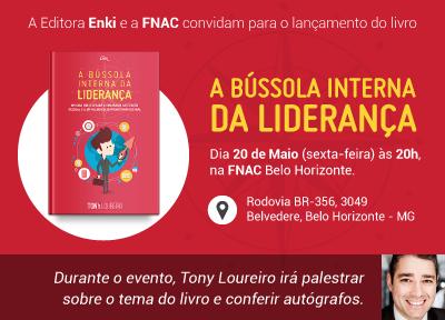 Lançamento do Livro – A BÚSSOLA INTERNA DA LIDERANÇA